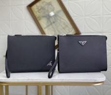 プラダ PRADA メンズ セカンドバッグ 定番人気 素敵な クラッチバッグ 2色 良品激安販売専門店