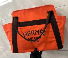 HERMES 旅行用バッグ ショルダーバッグ トートバッグ 大容量 エルメス 男女兼用 マルチカラーが選択可能 軽量で便利 キャンバス  人気殺到 追跡付本当に届くブランドコピー 口コミおすすめ店