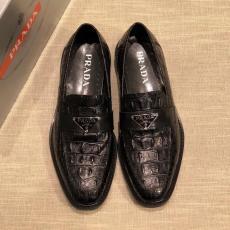 定番人気 高品質 プラダ メンズ 革靴 ビジネス 牛革  PRADA 2色スーパーコピー 口コミ工場直営