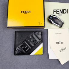 FENDI メンズ 二つ折財布 ショートウォレット 968568 累積売上額第3位獲得 フェンディ  マルチカラーが選択可能 人気商品 牛革スーパーコピー財布工場直売専門店