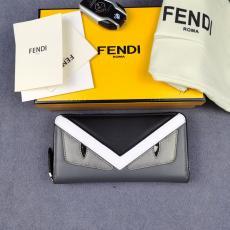 長財布 フェンディ ファスナー 完売前に新作を先取り 即発注目度NO.1 FENDI マルチカラーが選択可能 良品 868568 カラーブロック口コミ激安代引き