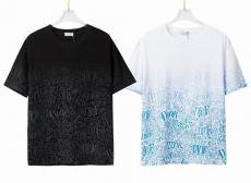 2021年春夏新作 2色 ディオール 安心の国内発送 Dior Tシャツ メンズ/レディース クルーネック おすすめ 綿ブランドコピー工場直売販売口コミ優良店