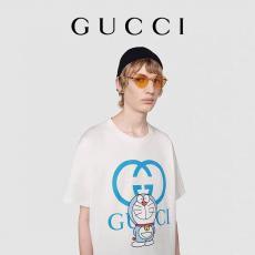 2021年新作 GUCCI Tシャツ 綿 4色 クルーネック グッチ 売上額TOP3 男女兼用 カップル 新作入手困難ブランドコピー 後払い line