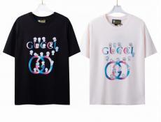 Tシャツ クルーネック 2色 グッチ 人気殺到 手元在庫あり GUCCI メンズ/レディース カップル 新作ブランドコピー 優良工場直売サイトline