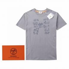 HERMES Tシャツ 話題の新作 エルメス 3色 クルーネック メンズ/レディース  大人気 即完売必至本当に届くスーパーコピー工場直営優良サイト