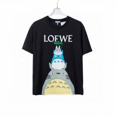 メンズ/レディース ロエベ  2021年春夏新作  安心送料関税込 LOEWE カップル 2色 クルーネック Tシャツスーパーコピー 国内優良工場直売サイト届く