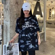 シャネル 新生活に Tシャツ クルーネック CHANEL 人気 メンズ/レディース 半袖   確保済み!コピー代引き安全口コミ後払い