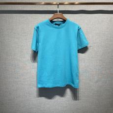2021年春夏新作 ルイヴィトン 男女兼用 新色☆希 LOUIS VUITTON 2色 クルーネック Tシャツ 綿 シンプルで快適 カップル カジュアル 完売前に新作を先取り本当に届くブランドコピー工場直営店 口コミ