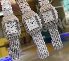 カルティエ Cartier レディース クォーツ  ミニパンテール27mm 限定希少 多色オプションブランドコピー工場直売販売おすすめ店
