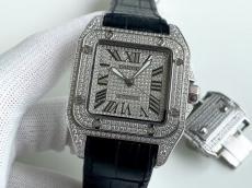 大判新作を先取り カルティエ Cartier 自動巻き メンズ サントス 42mmスーパーコピーブランド代引き工場直売店