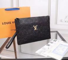 ルイヴィトン 大人気即完売必至 クラッチバッグ 黒色 LOUIS VUITTON セカンドバッグ 高品質 821-5スーパーコピーちゃんと届く