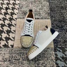 大人気 Christian Louboutin メンズ/レディース 靴 4色 ローカット カジュアルシューズ  クリスチャンルブタン 手元在庫あり