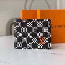 ルイヴィトン メンズ ダミエ 短財布 二つ折財布 札入れ 定番 実用的 M80171  完売前に新作を先取り LOUIS VUITTON 安心送料関税込ブランドコピー代引き安全優良工場直売おすすめサイト