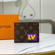 大人気即完売必至 ルイヴィトン 二つ折財布 札入れ 短財布 LOUIS VUITTON 定番 シンプルさ  M45789  モノグラム 新品同様本当に届くブランドコピー 工場直営口コミ国内安全後払い通販サイト