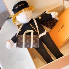 カップル 人形 装飾品  LOUIS VUITTON 新品同様  ルイヴィトン 大人気新作 早い者勝ち 男女兼用