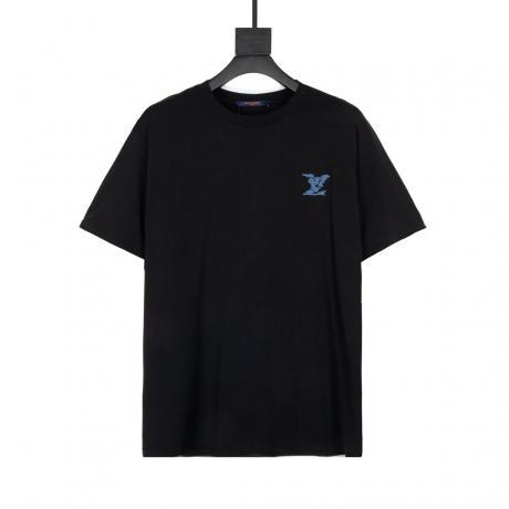 ヴィトン LOUIS VUITTON  字母ロゴ 新作半袖2色ブランドコピー 安全優良工場直売おすすめサイトline