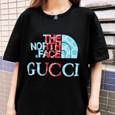 グッチ GUCCI メンズレディース字母ロゴ ファッション新作快適百搭 柔軟 カップル潮流シンプルさ流行Tシャツ綿半袖プリントスーパーコピーTシャツ激安販売おすすめサイト