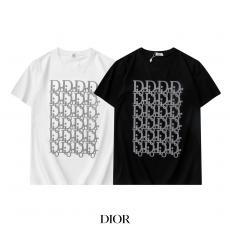 他の人と差を ディオール Dior Tシャツ半袖プリントラウンドネック 本当に届くスーパーコピー 口コミおすすめ工場直営ちゃんと届く