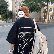 オフホワイト Off White 新作百搭 カップル人気商品シンプルさTシャツ半袖プリントブランドコピー 優良工場直売おすすめサイト