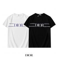 Dior ディオール Tシャツ半袖プリントファッション百搭 字母ロゴ 本当に届くスーパーコピー おすすめ店
