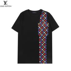 新作入手困難 ルイヴィトン LOUIS VUITTON  メンズレディース新作ジャカードTシャツ綿半袖ブランドコピー 安全優良工場直売おすすめサイトline