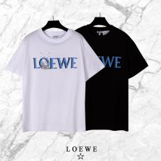 他の人と差を ロエベ LOEWE 春夏定番新作カップル綿プリント2色偽物Tシャツ代引き対応工場直売サイト ランキング