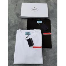 PRADA プラダ 快適人気商品完璧な技量2色ブランドコピー代引きTシャツ工場直営サイト ランキング