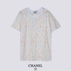 CHANEL シャネル カジュアルファッション百搭 ラウンドネック Tシャツ本当に届くブランドコピー 工場直営口コミ国内安全後払いおすすめ店