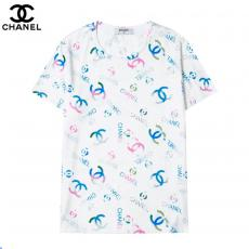 シャネル CHANEL 字母ロゴ ファッション新作半袖コピー 販売Tシャツ