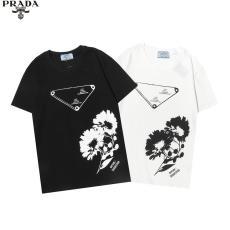 累積売上額TOP12 PRADA プラダ 字母ロゴ 新作プリントラウンドネック ファッションブランド工場直売通販安心