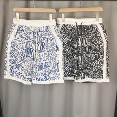 ブランド国内 Dior ディオール 春夏おしゃれ五分丈ショートパンツプリント2色コピーブランド激安販売ズボン信用できるサイト