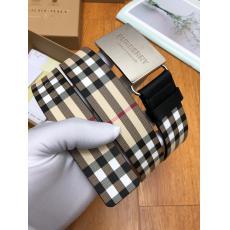 Burberry バーバリー ズック牛革クラシック 幅3.5cm2色セール レプリカベルト 代引き工場直営サイト ランキング