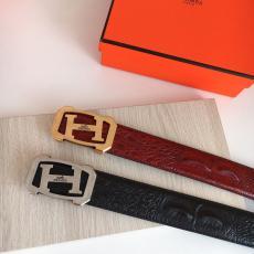 エルメス  HERMES 百搭 両面ビジネスカジュアル大人気耐久性牛革おしゃれ 新作幅3.8cm2色格安コピーn級品