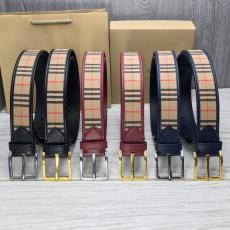 バーバリー Burberry ベルト牛革本革幅3.5cm2色ブランドコピー工場直売販売口コミ代引き後払い店